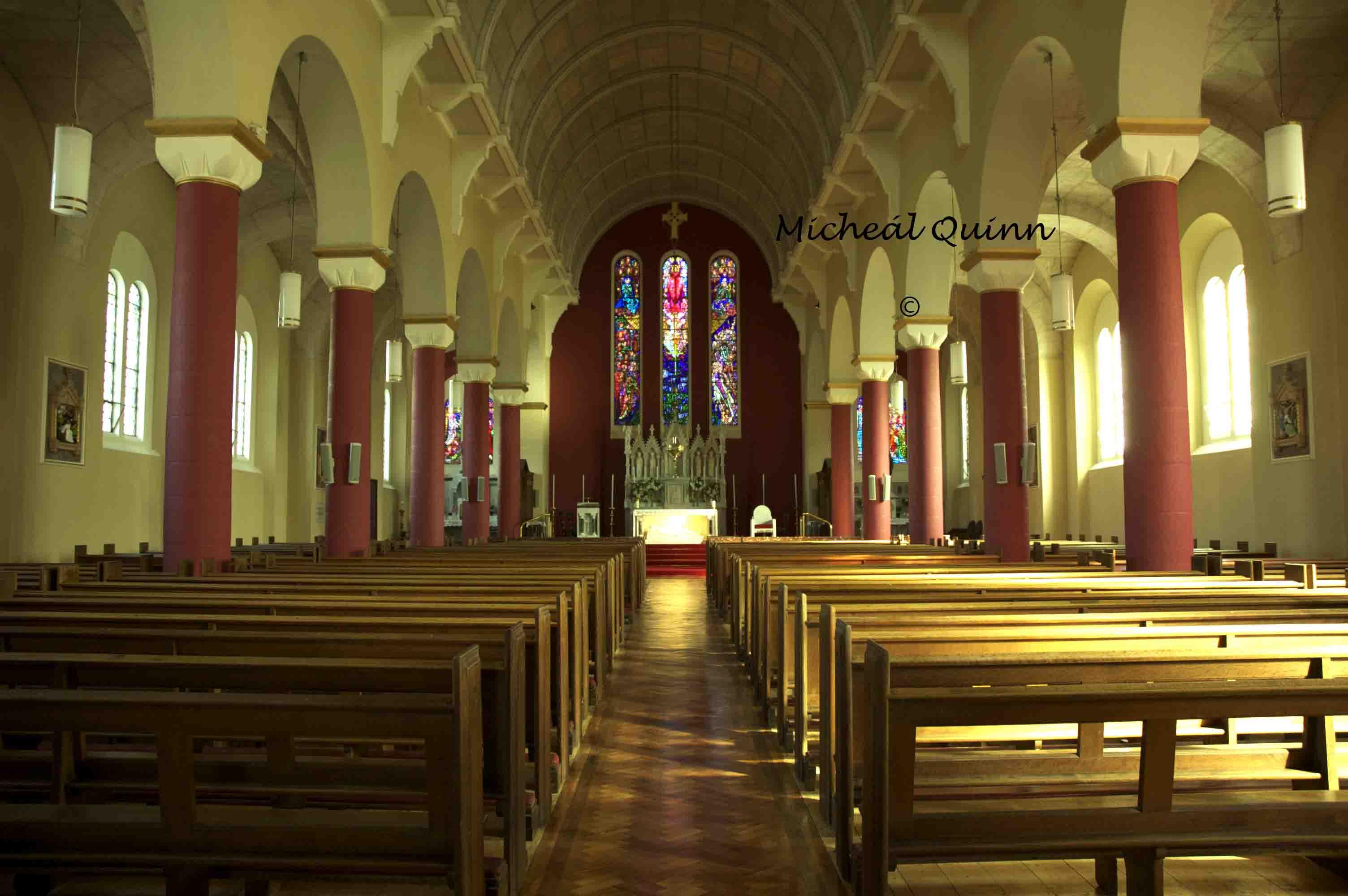 Inside St Patricks Church Newport Chambers Clan